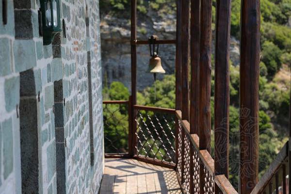 Вид с террасы монастыря Симонопетра