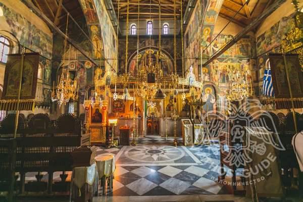 Фрески храма Протата