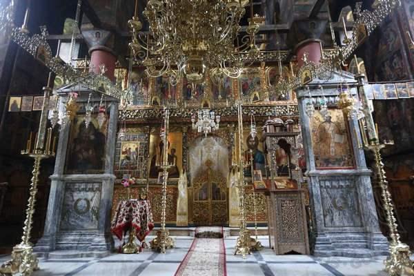 Иконостас монастыря Филофей