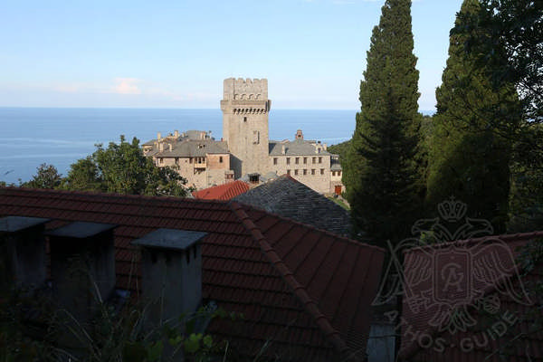 Башня монастыря Каракал