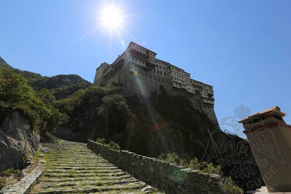 Монастыри Афона, Греция: Дионисиат фото