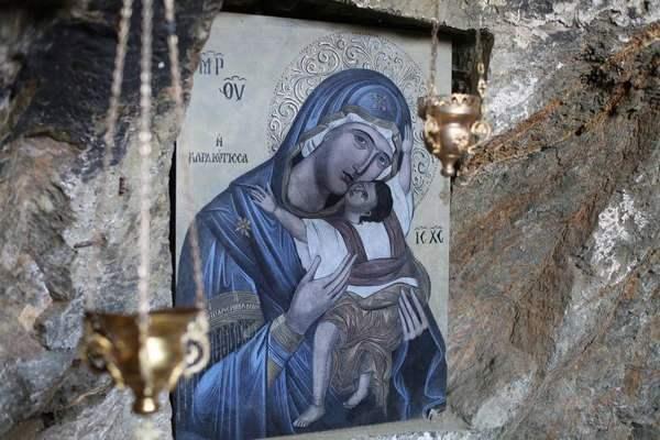 Святыни Дохиара: икона Богородицы