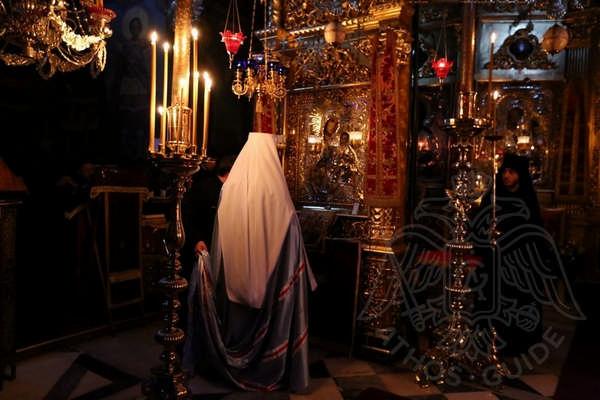 Главный храм монастыря Св. Пантелеймона на Святой Горе