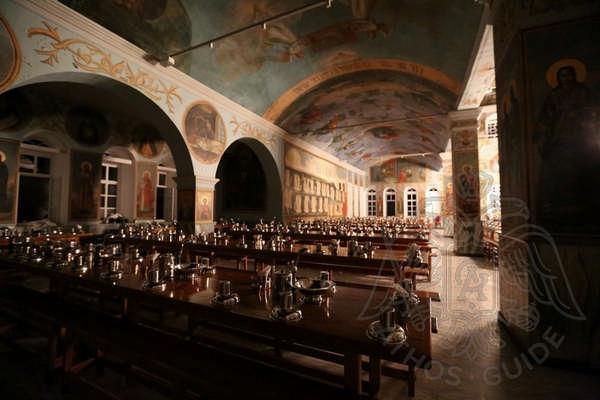 Трапезная Свято-Пантелеймонова монастыря