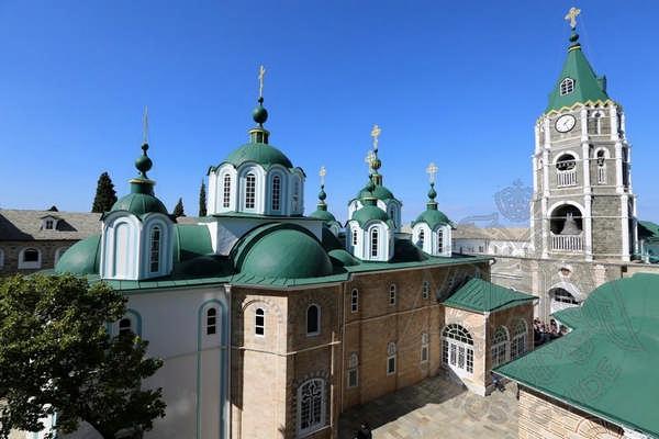 Монастырь святого Пантелеймона на Афоне