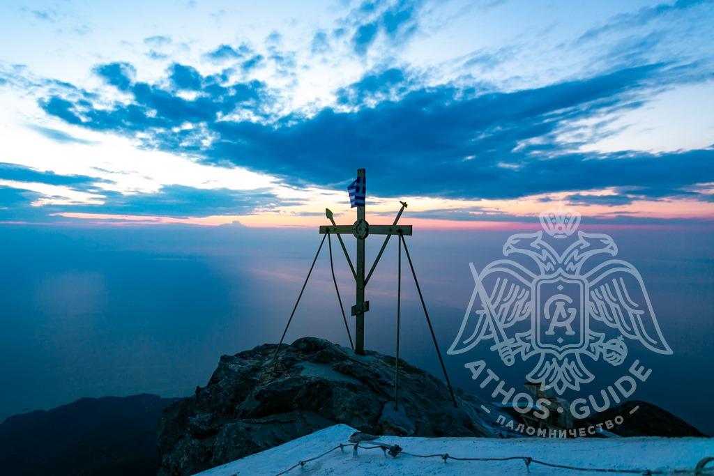 Вид с Горы Афон фото