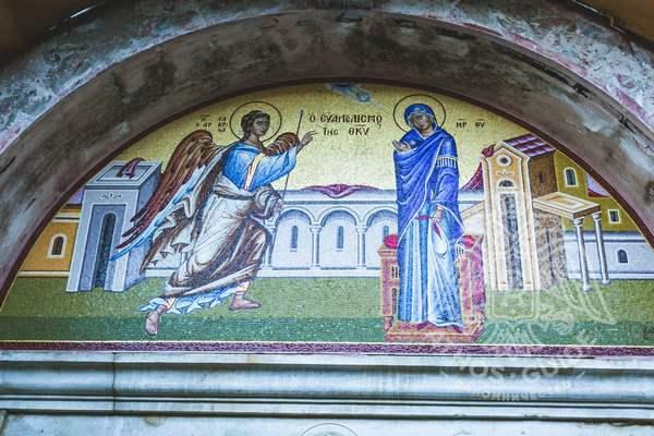 Мозайка монастыря Ватопед