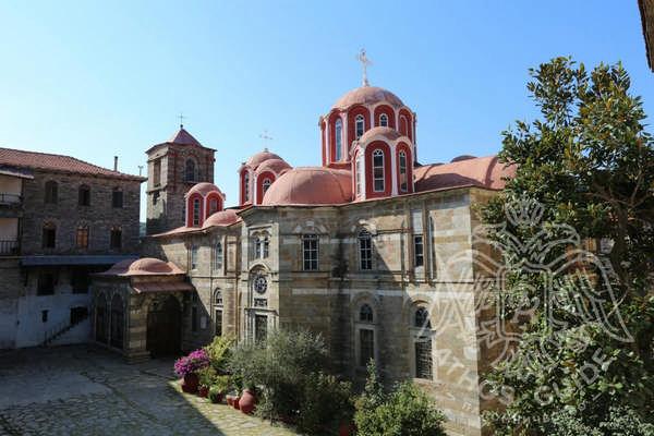 Монастырь Констамонит фото