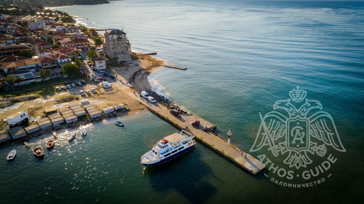 Порт Урануполи фото