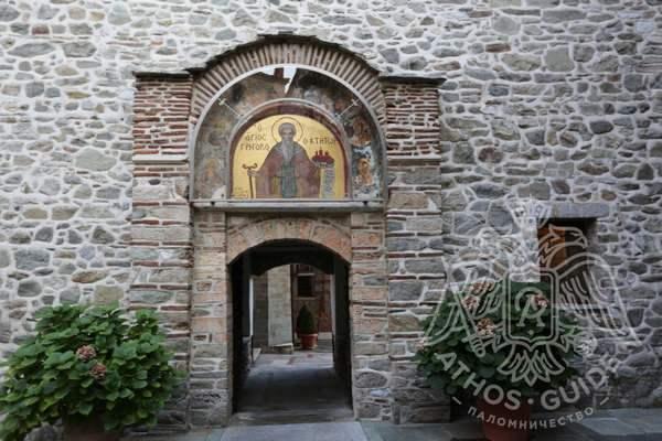 Григориатская икона (фрески монастыря)