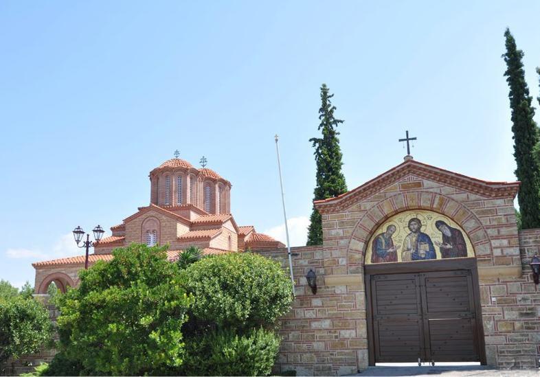 Монастырь Суроти в Греции