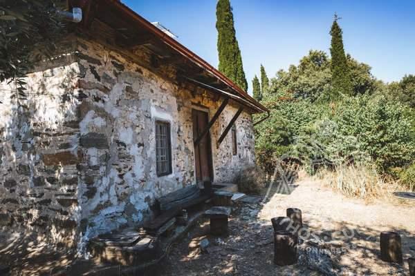 Дом старца Паисия Святогорца на Афоне