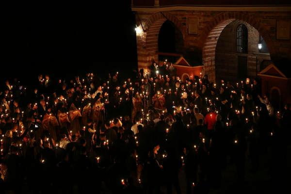 Праздник Пасхи на Афоне