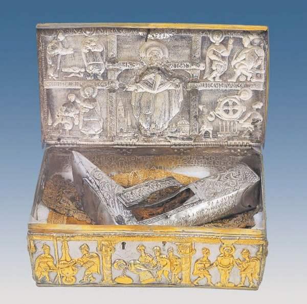 Часть ноги Святого Великомученика и Целителя Пантелеймона